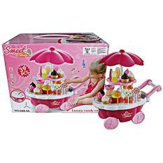 Diskon Sweet Shop Candy Cart Pink 668 25 Mainan Anak Perempuan Kado Cewek Multi