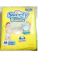 Spesifikasi Sweety Bronze Pants Popok Bayi Dan Anak Unisex Diapers Tipe Celana Size M 34 4 Pcs Yang Bagus Dan Murah