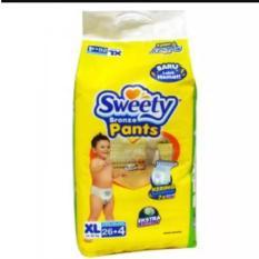 Sweety Bronze Pants Popok Bayi Dan Anak Unisex Diapers Tipe Celana Size Xl 26 4 Pcs Terbaru