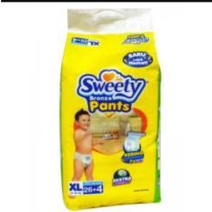 Toko Sweety Bronze Pants Xl26 4 Popok Sekali Pakai Lengkap