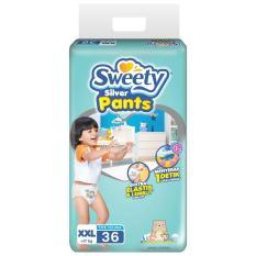 Jual Sweety Diapers Silver Pants Xxl 36 Sweety Branded