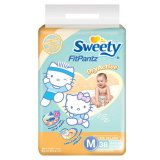 Harga Sweety Diapers Fit Pantz Active Dry M 38 Origin
