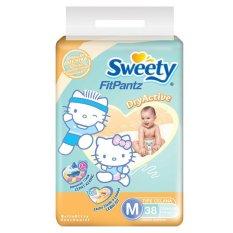 Beli Sweety Diapers Fit Pantz Active Dry M 38 Pake Kartu Kredit