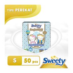 Harga Hemat Sweety Popok Gold Comfort S 50