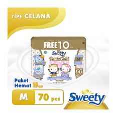Jual Sweety Popok Gold Pants M 60 10 Sweety Grosir