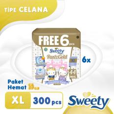 Toko Sweety Pants Royal Gold Xl 6 X 44 6 S Terlengkap Indonesia