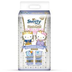 Promo Sweety Pantz Gold M 34 Sweety Terbaru