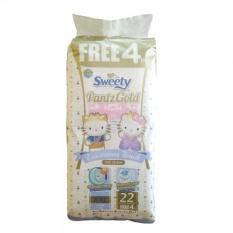 Cuci Gudang Sweety Popok Bayi Pantz Royal Gold Xxl 22 4
