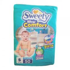 Toko Sweety Popok Bayi Silver Comfort Tape S 50 Online Terpercaya