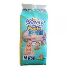 Beli Sweety Popok Bayi Silver Pants M 30 Online Dki Jakarta