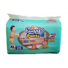 Beli Sweety Popok Bayi Silver Pants Xl 26 Nyicil