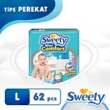 Beli Sweety Popok Silver Open Comfort L 62 Murah Di Indonesia