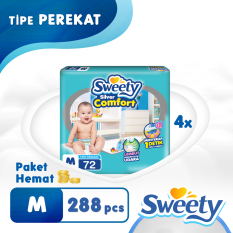 Sweety Silver Comfort M 4 X 72 S Asli