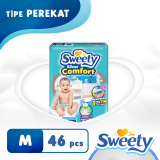 Review Sweety Popok Silver Open Comfort M 46 Indonesia