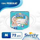 Jual Sweety Popok Silver Open Comfort M 72 Indonesia Murah