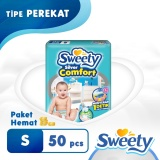 Beli Sweety Popok Silver Open Comfort S 50 Nyicil