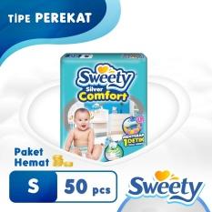 Promo Sweety Popok Silver Open Comfort S 50 Akhir Tahun