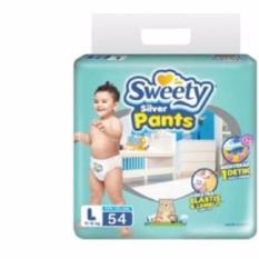 Ulasan Tentang Sweety Silver Pants L54 Popok Bayi Celana Diapers