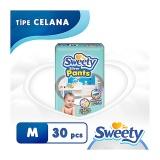 Diskon Sweety Popok Silver Pants M 30 Sweety