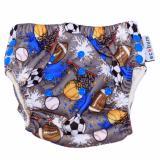 Spesifikasi Swim Diaperecobum Motif Sport Ball Celana Renang Premium Anak 3 Size In 1 Online