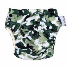Jual Swim Diaperecobum Motif Woodland Camo Celana Renang Premium Anak 3 Size In 1 Ecobum Branded