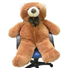 Syuka Kids Boneka Beruang Teddy Bear Besar Super Jumbo 120 cm (SNI) - Coklat 2831e98054