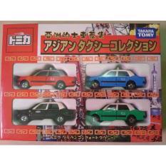 Takara Tomy Taxi Set Toyota Crown Taksi Tomica - 9A7cd5 - Original Asli