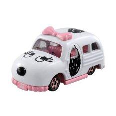 Takara Tomy Tomica Diecast Miniatur Mobil Snoopy's Sister Belle - Putih (Seri Dream Tomica)