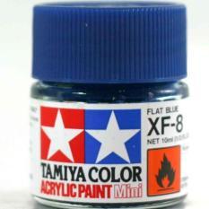 Tamiya Acrylic Xf-8 Flat Blue ( Cat Gundam Model Kit ) - Eea7a7 - Original Asli