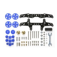 Jual Tamiya Basic Tune Up Parts Set Multi Chasis Biru Tamiya Asli