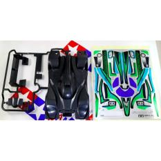 Tamiya Body Heat Edge Green Special - C79bcb - Original Asli