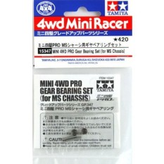 Jual Tamiya Mini 4Wd Pro Gear Bearing Set For Ms Chassis Silver Online Di South Sumatra