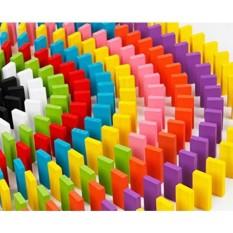 Taousa 70038 240 Pcs Blok Domino Kayu Set, Mainan Anda Children Intelijen Pendidikan dan Pengembangan, bangunan Permainan, Penumpukan Mainan-Internasional