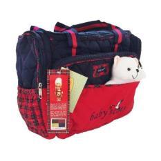Tas Baby Travel Karakter Boneka (Baby Scots) - Merah