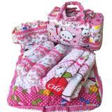 Jual Tas Bantal Guling Gendongan Alas Tidur Perlak Bayi Set 4 In 1 Chekiddo Bayi Kita Branded