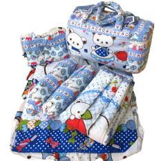 Tas Bantal Guling Gendongan Alas Tidur Perlak Bayi Set 4 In 1 Chekiddo By Asmaranti Shop.