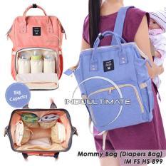 Ulasan Lengkap Tas Bayi Backpack Tas Perlengkapan Baby Ransel Tas Popok Diaper Bag Fs Hs 899 Blue
