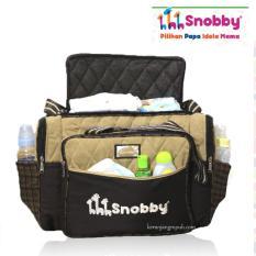 Harga Tas Bayi Besar Saku Boneka Apl Bordir Baby Bag Big Size Snobby Terbaik