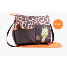 tas bayi untuk bepergian perlengkapan bayi tas popok bayi perlengkapan baby peralatan bayi tas bayi serbaguna lazada perlengkapan bayi tas perlengkapan baby tas untuk peralatan bayi tas baby lucu Tas Bayi Giraffe Orange