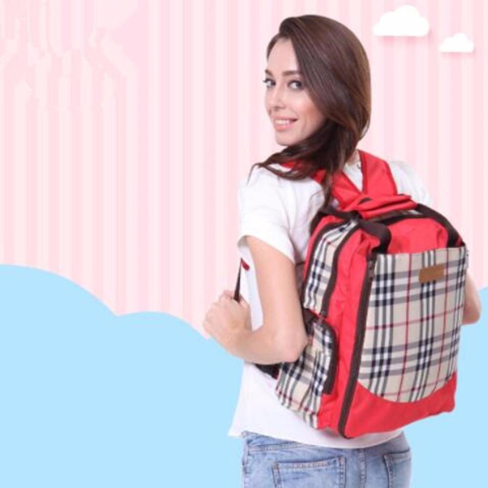 tas bayi untuk bepergian perlengkapan bayi tas popok bayi perlengkapan baby  peralatan bayi tas bayi serbaguna b1e5188727