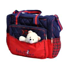Tas Besar/ Large Bag / Diapers Bag - Baby Scots Embroidery Diaper Bag