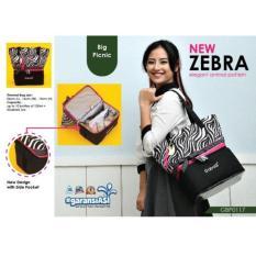 Tas menyimpan ASi - Gabag Tas Cooler Bag - Zebra bow