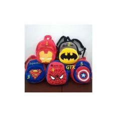 Tas Ransel Anak Cowok Boneka Karakter SUPERHERO Avengers - 2 Rest 25Cm