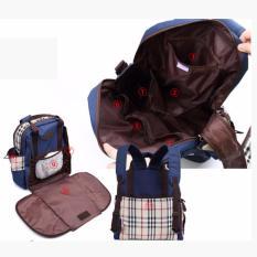 tas tempat baju bayi tas buat bayi tas bayi besar tas perlengkapan anak tas tempat perlengkapan bayi tas baju anak aneka tas bayi model tas untuk pakaian bayi  Tas Bayi Blue Diaper Bag Water Proof
