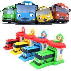 Diskon Tayo The Little Bus 4 Buah Garasi Mainan Anak Murah Set 4Pcs Ahs