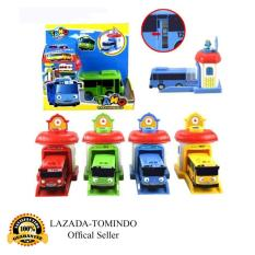 Beli Tayo The Little Bus Garasi 1 Set 4 Pcs Paking Dus Per Pcs 2001 333 001A Pull Back Car Play Set Mainan Anak Mobil Bis Karakter Tayo Mobil Mobilan Online Murah