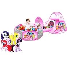 Tenda Terowongan Ballpit Little Pony