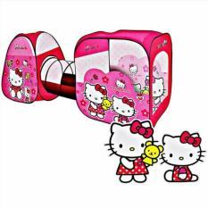 Tenda Terowongan Hello Kitty
