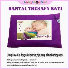 TERBARU Bantal Bayi Olus Ungu Tua, Bantal Kesehatan, Bantal Anti Peyang, Bantal Bayi Kacang Hijau, Bantal Bayi Therapy