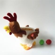 Ayam Bertelur Akan Bernyanyi dan Menari Mainan Mewah dari Ayam Petelur Bertelur Di Bawah Tahun rooster Mainan-Internasional
